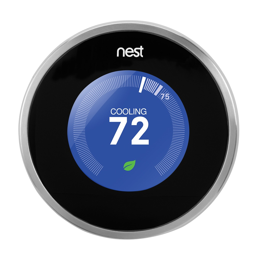Smart thermostats home automation hardware - Nest thermostat stylish home temperature control ...