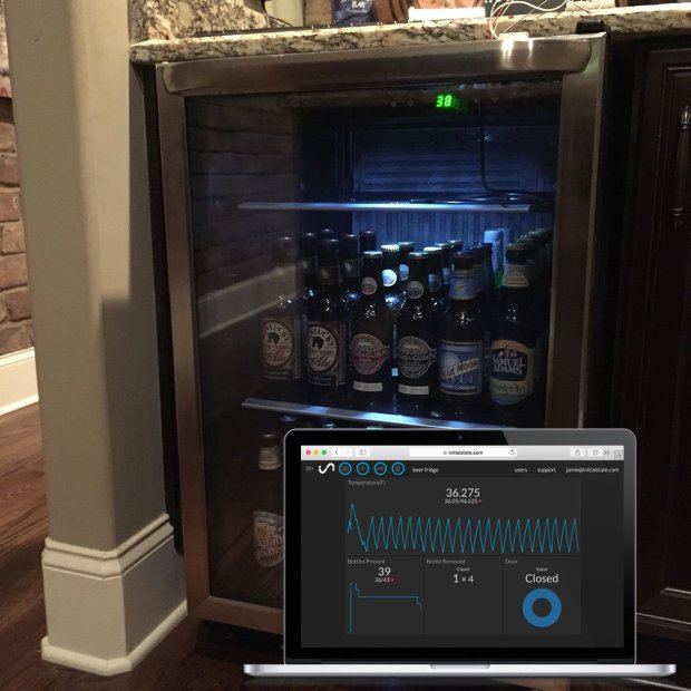 7 Most Creative and Curious IoT Projects for the Smart Home Smart Beer Fridge