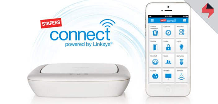 Staples Connect Home Automation System Devices Line Goes Z