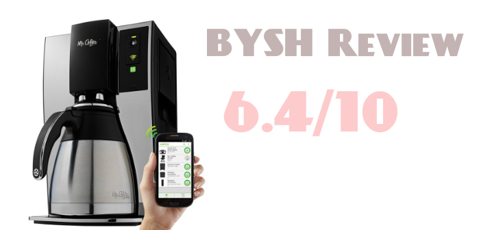 Mr. Coffee Wi-Fi Enabled Smart Coffee Brewer – A BYSH Review