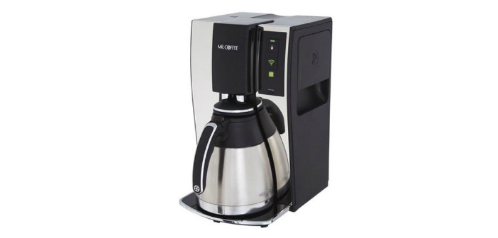 Smart Home Coffee Maker : Mr. Coffee Wi-Fi Enabled Smart Coffee Brewer - A BYSH Review