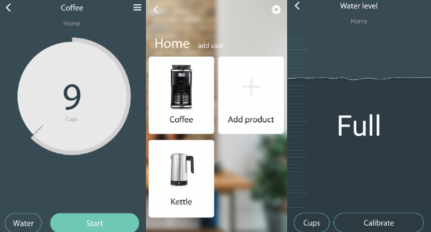 The Smarter Coffee Machine App