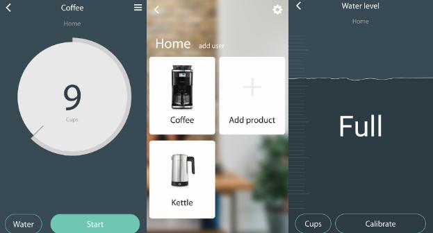 The Smarter Coffee Machine App