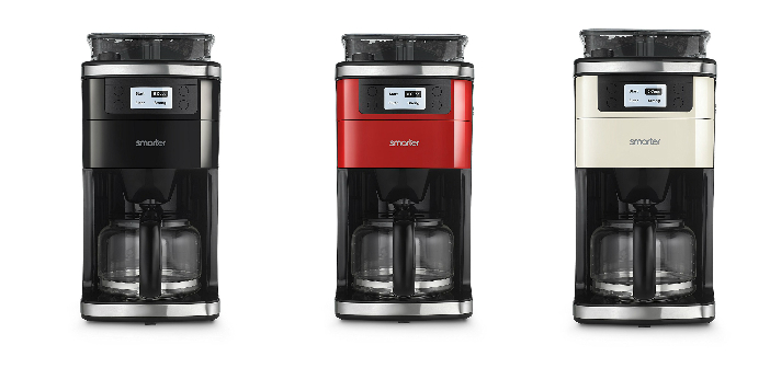 The Smarter Coffee Machine Colors