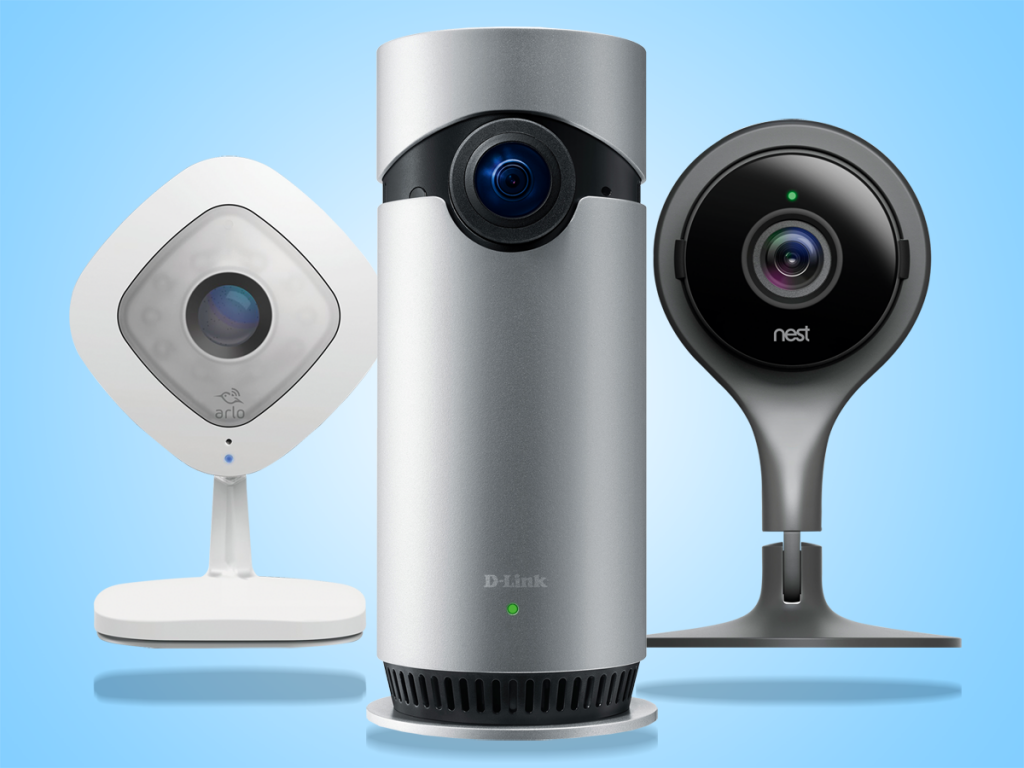 best smart home security cameras reviewed indoor security. Black Bedroom Furniture Sets. Home Design Ideas
