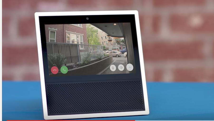 Ring Doorbell Alexa Skill For Amazon Echo Show